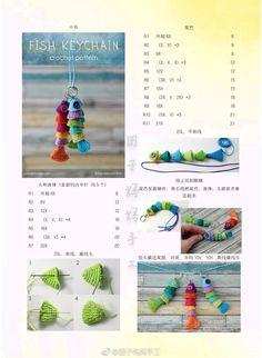 Crochet Wallet, Crochet Keychain Pattern, Crochet Gifts, Diy Crochet, Crochet Dolls, Crochet Fish Patterns, Amigurumi Patterns, Cat Amigurumi, Crochet Key Cover