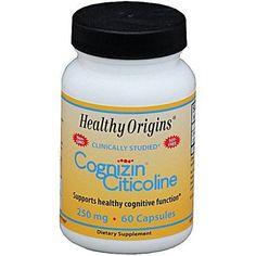 Healthy Origins Healhty Origins Cognizin Citicoline, 250mg, 60 CT