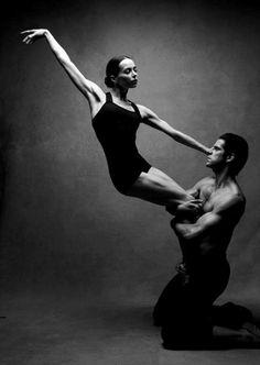 Diana Vishneva ,prima ballerina Mariinsky Ballet and Marcelo Gomes from @ABTBallet - by Patrick Demarchelier