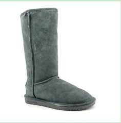 Bearpaw Womens Bianca Tall Med gray Suede Boots 6 M US -- Discover this special boots, click the image : Bearpaw boots