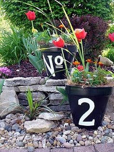 DIY House Numbers:  I'm on it!