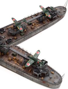 IJN Light Cruiser OYODO 大淀 1944 (built from FS710018) - FiveStarModel_五星模型 Scale Model Ships, Scale Models, Model Warships, Model Ship Building, Imperial Japanese Navy, Navy Ships, Tamiya, Radio Control, Battleship