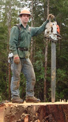 Best Chainsaw, Chainsaw Mill, Biggest Truck, Power Saw, Timber Logs, Wood Cutter, Too Close For Comfort, Logging Equipment, Western Washington