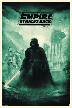 Star Wars: The Empire Strikes Back by Karl Fitzgerald