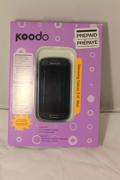 Samsung Galaxy S III 3 Mini 8Gb  Blue Prepaid With Koodo New Sealed #Samsung http://stores.ebay.com/Pontiac-Pickings
