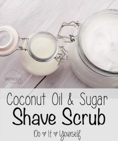 The Homestead Survival | Make Your Own Exfoliating Shave Scrub That Moisturizes too | http://thehomesteadsurvival.com