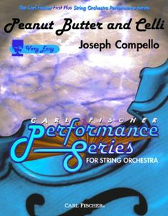 "Peanut Butter and Cello by Joseph Compello.  Recommended by Della for 5th grade cellists (and bassists too!). ""how low can you go"" spoken three times.  Cute easy feature piece"