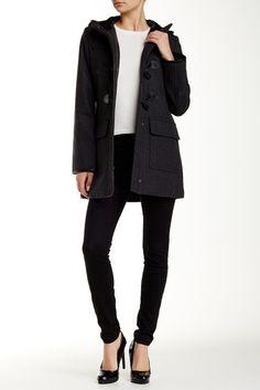 Wool Blend Duffle Coat | Shops, Canada and Wool