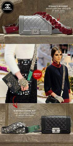 Hit em 1,2,3: as alças trabalhadas das bolsas da Chanel