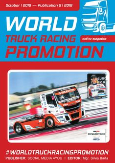 WORLD TRUCK RACING PROMOTION It is an Internet magazine that is published in digital form once a month. Its content focuses on the worldwide promotion and advertising of truck racing on race circuits as well as associated truck shows and truck festiv. Social Networks, Social Media, Online Advertising, Sale Promotion, Grand Prix, Circuit, Competition, Racing, Trucks