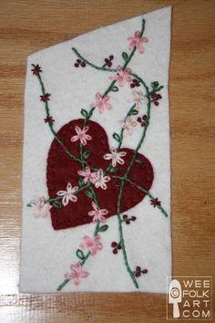 Gnome Valentine Banner | Wee Folk Art