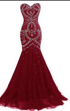 Burgundy Prom Dresses,Prom Dress,Burgundy Prom Gown,Burgundy Prom Gowns,Elegant