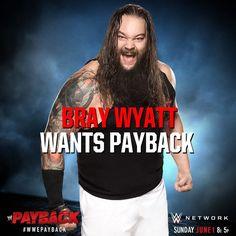 WWE Payback 2014, Bray Wyatt