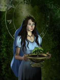 Virgo, keeper of purity and nature