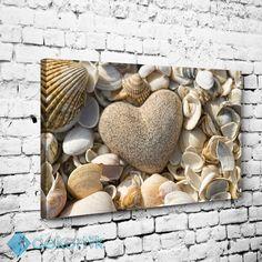 Natural Deniz Kabukları Tablo #natural_kanvas_tablolar #Manzara_tabloları