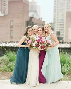 f811af7576c 28 Reasons to Love the Mismatched Bridesmaids  Dress Look