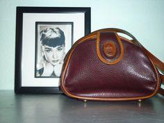 Vintage  ledertasche  von *Coco Mademoiselle* auf DaWanda.com