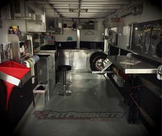 Elegant Race Car Trailer Cabinets