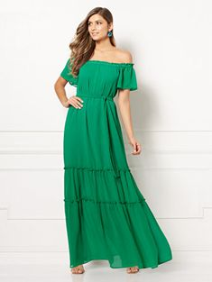 4091b785082 Concetta Maxi Dress - Eva Mendes Collection