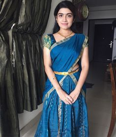 Photo Wallpaper, Mobile Wallpaper, Dads Little Girl, Half Saree Designs, Whatsapp Dp, Indian Film Actress, India Beauty, Hd Photos, Indian Outfits