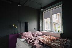 Разлитая краска, оголенный бетон напотолке, игра собъемами ибережное отношение квоспоминаниям