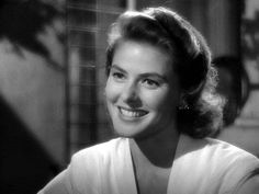 Ingrid Bergman. #ingrid bergman #film #beauty