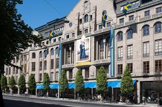 This iconic department store on Hamngatan has been a cultural and commercial succes since its very opening.