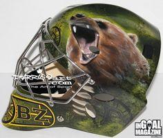 Malcolm Subban Boston Bruins 2013-14 Mask left side