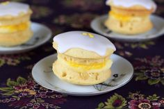 Luscious lemon whoopie pies. Please click on the photo, then click once more in Yumgoggle to get to this delicious recipe =)