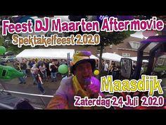 Klein Spektakelfeest Maasdijk #FeestDjMaarten #Aftermovie #Spektakelfees... After Movie, Baseball Cards, Youtube, Youtubers