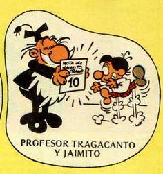 El profesor Tragacanto y Jaimito que es de espanto
