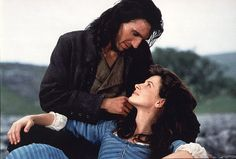 Ralph Fiennes and Juliette Binoche in Wuthering Heights