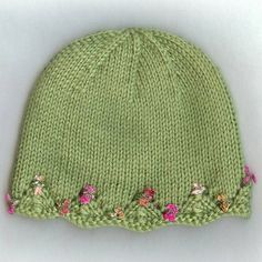 We Like Knitting: One Day Baby Hat - Free Pattern