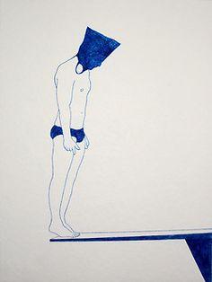 sem título / untitled nanquim sobre papel / nankeen on paper 2013 #thevintees #illustration