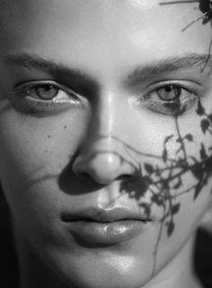 """Forces of Nature"" Tess Hellfeuer by Jan Welters for Elle France May 2016. Fashion Editor: Julie Chanut-Bombard  Hair: Maranda  Makeup: Jurgen Braun"