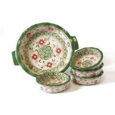 temp-tations® Old World 6-pc. Stoneware Baking Set