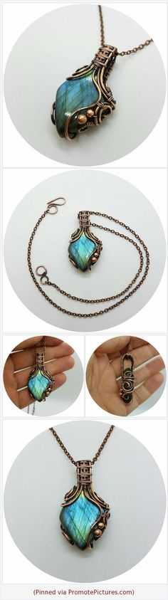#Flashlabradorite #bluelabradorite #labradoritenecklace #coppernecklace #Wirewrapped #Wirewrappedjewelry #Handmadependant #Wirewrappedpendant #Uniquebirthdaygift #giftforher #Taurusbirthstone #Scorpionbirthstone #Lionbirthstone #labradoritebirthstone #wirewrap #jewelry https://www.etsy.com/MilaWireWrapArt/listing/620283353/flash-blue-labradorite-copper-necklace?ref=shop_home_active_1  (Pinned using https://PromotePictures.com)
