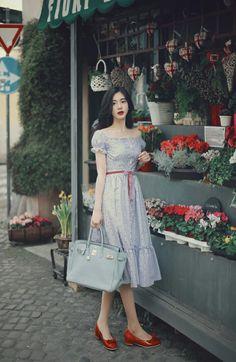 Quero me casar com moda retrô.