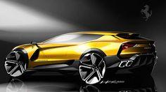 Ferrari SUV concept By Ahn Dre #carsketch #cardesigncommunity #디자인#자동차디자인#스케치#자동차스케치#cardesignerscommunity #designer#sketch#sketchbook#design#carcommunity#carsketch#mercedes#concept#ferrari #suv