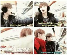 Very descriptive... LOL THE WALKING DICTIONARY! Don't worry Baekhyun, you are not the only one!