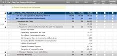 Financial Statement Template  Accounting Templates