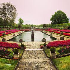 Kensington Gardens - London as view from the Kensington Palace