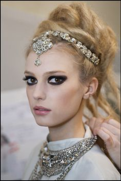 CHANEL ,hair and jewels