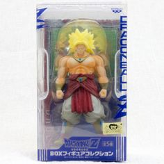 RARE! Dragon Ball Z Broly Box Figure Collection Banpresto JAPAN ANIME MANGA