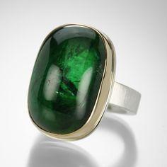 Green Tourmaline Ring,Jamie Joseph