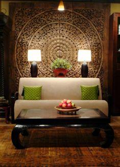 Herrliches schlafzimmer im asiatischen stil ausgestattet for Asiatische raumgestaltung