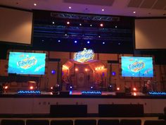 We have received several requests to see pictures of the submarine used for the VBS 2016 Worship Rally Videos as well as the stage set for the VBS16 Preview. Here's a behind-the-scenes look. …