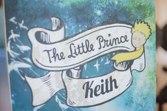 The Little Prince Children's Book Boy Party | Philippines Children's Party Blog