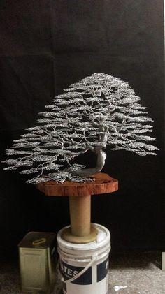 wire wrap bonsai