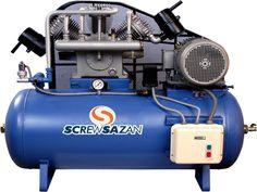 فروش کمپرسور باد ایتالیایی و آلمانی از سایز 80 لیتری تا 9000 لیتری